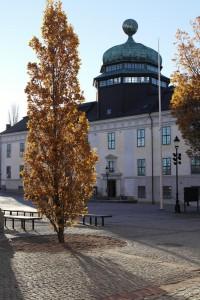 Bild på byggnaden Gustavianum i Uppsala